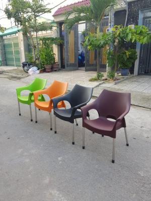 Ghế nhựa cafe mẫu mới nhất