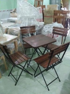 Thanh lý bàn ghế cafe giá rẻ,bàn ghế xếp fanxifan-MN