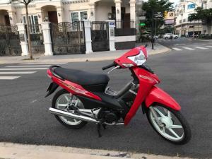 Xe WAve A màu đỏ. bánh mân bSTp