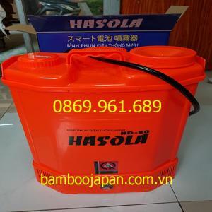 Bình xịt điện Hasola cam/xanh HD20
