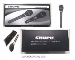 Micro có dây Shure SM-959 cam kết hàng chính hãng 100%