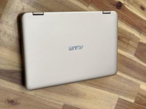 Laptop Asus Vivobook TP203NAH, Pentium N4200 4G 500G Cảm ứng xoáy 360 độ BH 11/2019
