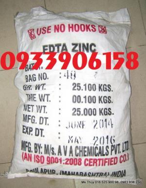 Bán EDTA Zinc-Bán kẽm EDTA giá tốt-Tìm Mua Zinc EDTA giá tốt-bán zinc kẽm tại đồng nai-EDTA Zinc Ấn độ