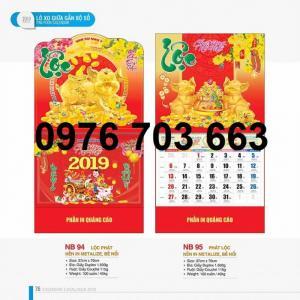 Công Ty Alpha chuyên in ấn lịch Tết giá rẻ, lịch Tết in logo theo yêu cầu