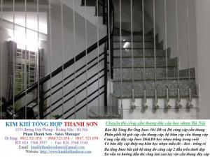 Lan can cầu thang dây cáp căng dọc hoặc căng ngang