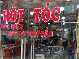 Sang tiệm tóc Nam máy lạnh