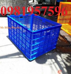 Sọt nhựa HS012, sọt nhựa sử dụng trong may mặc, cơ khí, nhà hàng, quán ăn