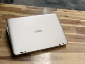 Laptop Asus Vivobook TP203NAH, Pentium N4200 4G 500G Cảm ứng xoáy 360 độ BH 11/2019 màu GOLD