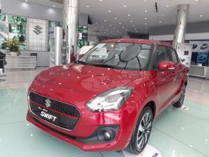 Suzuki New Swift 2018 Phiên bản GLX màu đỏ,...