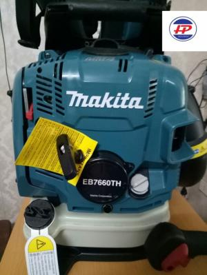 Máy thổi bụi, thổi lá Makita EB 7660TH chính hãng, chạy xăng dễ sử dụng.