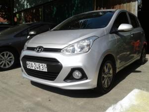Hyundai Gran I10 11/2015 .Bản full : đề satr/stop, kính hậu xếp điện, mậm đúc