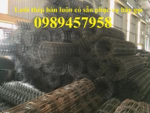 Nhà sản xuất Lưới thép hàn chập phi 6 ô 200x200, D6 200*200, A6 200*200