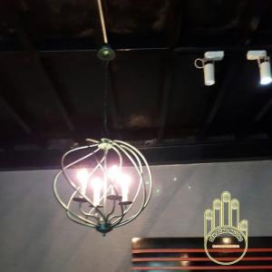 Đèn chùm sắt MS01082