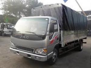 Xe tải jac 4 tấn 95/ 4t95/4.95 tấn/ 4.95T + xe có sẵn + giá tốt+ ô tô Tây Đô