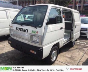 Xe Tải Nhỏ Suzuki 580Kg Rẻ - Tặng Trước Bạ 100% + Phụ Kiện, Siêu Bền 25 Năm