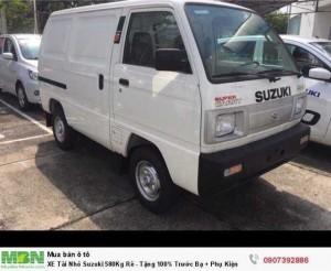 XE Tải Nhỏ Suzuki 580Kg Rẻ - Tặng 100% Trước Bạ + Phụ Kiện
