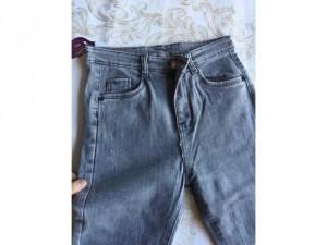 Quần Jean nữ lưng cao ống đứng