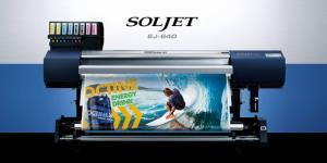 Máy in chuyển nhiệt, máy in vải 3D sắc nét Roland SolJet EJ640 [Nhật Bản]