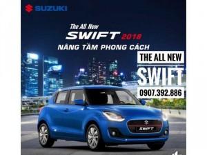 Bán Xe Suzuki Swift 2018, Màu Xanh, Nhập Thái Lan, Giá Tốt Nhất Tp.Hcm, Có xe sẵn giao ngay