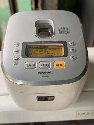 Nồi cơm cao tần IH 1LIT PANASONIC SR-SU105 có ly nước bù ẩm còn mới