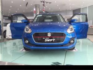 Bán Suzuki Swift 2018, màu Xanh, Đang có sẵn ở Showroom Suzuki Phổ Quang