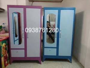Tủ sắt quần áo 90 cao 1m6 ( giao hàng tận nơi toàn tp hcm )