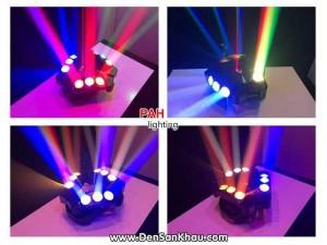 Đèn bay phòng Nanola 2 in 1 Laser LED