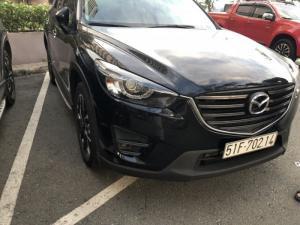 Bán Mazda CX-5 Facelift 2.0AT màu đen VIP số tự động sản xuất 2016 biển Sài Gòn lăn bánh 36000km