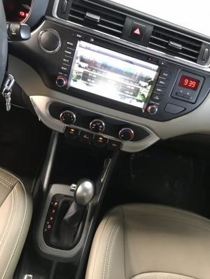 Bán Kia Rio sedan 1.4AT màu nâu titan số tự động nhập Hàn Quốc 2016 biển tỉnh lăn bánh 30.000km