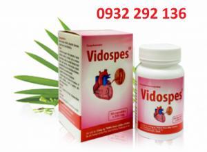 Vidospes hỗ trợ sức khỏe tim mạch, ngăn ngừa đột quỵ, giảm đau thắt ngực