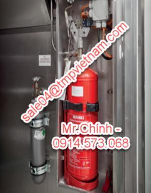 KS 2000-8 Minimax, Hệ thống chữa cháy và báo cháy Minimax