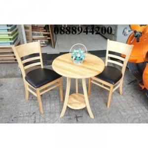 Thanh lý bàn ghế cafe giá rẻ, bàn ghế gỗ nhà hàng quán cafe thanh lý