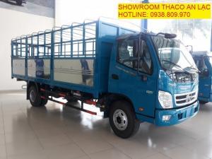 Bán xe tải THACO OLLIN 720.E4 - thùng dài 6,2m, hỗ trợ trả góp