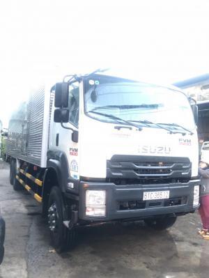 Báo giá Xe Tải Isuzu, 14,050kg, Thùng Kín 9,42m, Euro 4 2018 liên hệ Mr Độ Phú Mẫn auto