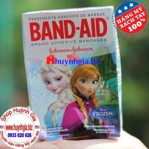 Băng dán Cá Nhân Hình Ảnh Đáng Yêu Cho Bé Band Aid Disney Frozen