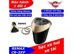 Tẩu Xạc Ô Tô REMAX chính hãng báo điện áp vôn
