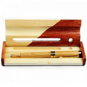 Hộp bút gỗ khắc chữ ( mẫu 1 )
