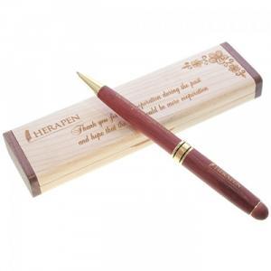 Hộp bút gỗ khắc chữ ( mẫu 2 )