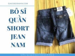 Quần Short nam Jean
