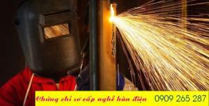 Khóa học cấp chứng chỉ nghề thợ hàn cấp tốc tại ngã 3 nhơn trạch đồng nai