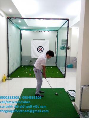 Khung lưới tập golf dành cho người mới tập chơi