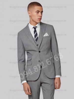 Xưởng may đồng phục áo vest nam công sở chất lượng, giá tốt