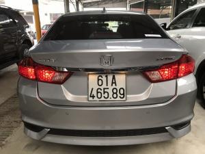 Bán Honda City TOP 1.5CVT màu bạc số tự động...