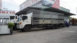 2018-12-13 15:16:27  13 Xe tải Hino FL 16 tấn thùng chở heo, gia súc 3 tầng có bửng nâng hạ - Gọi 0978015468 (MrGiang 24/24) Xe tải Hino FL 16 tấn thùng chở heo, gia súc 3 tầng có bửng nâng hạ 950,000,000