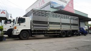 2018-12-13 15:16:27  12 Xe tải Hino FL 16 tấn thùng chở heo, gia súc 3 tầng có bửng nâng hạ - Gọi 0978015468 (MrGiang 24/24) Xe tải Hino FL 16 tấn thùng chở heo, gia súc 3 tầng có bửng nâng hạ 950,000,000