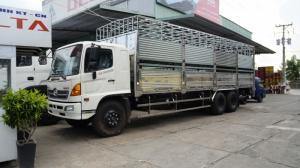 2018-12-13 15:16:27  10 Xe tải Hino FL 16 tấn thùng chở heo, gia súc 3 tầng có bửng nâng hạ - Gọi 0978015468 (MrGiang 24/24) Xe tải Hino FL 16 tấn thùng chở heo, gia súc 3 tầng có bửng nâng hạ 950,000,000