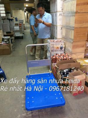 Xe kéo đẩy hàng 300kg hãng nào tốt giá rẻ tại Hà Nội