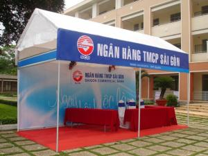 Cho thuê gian hàng tiêu chuẩn, gian hàng hội chợ Thái Nguyên