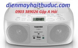 Cassette Toshiba TY-CRU12 chức năng CD, MP3, USB, Radio AM-FM