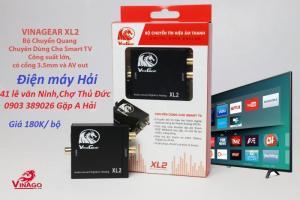 Bộ chuyển đổi âm thanh Vinagear XL2 ngõ quang optical ra analog